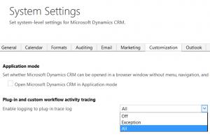 Tracing in Dynamics CRM Custom Assemblies Joe Gill Dynamics 365 Consultant
