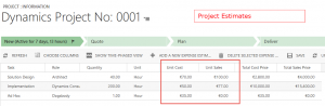 Project Service Automation Price Lists Joe Gill Dynamics 365 Consultant