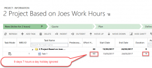 Project Service Automation - Work Hours Templates Joe Gill Dynamics 365 Consultant