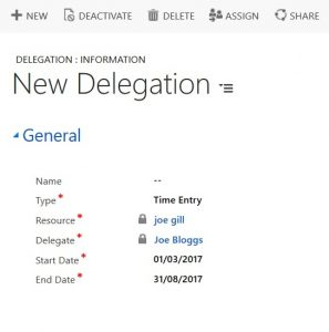 Project Service Automation Delegation - UI and SDK Gotchas Joe Gill Dynamics 365 Consultant