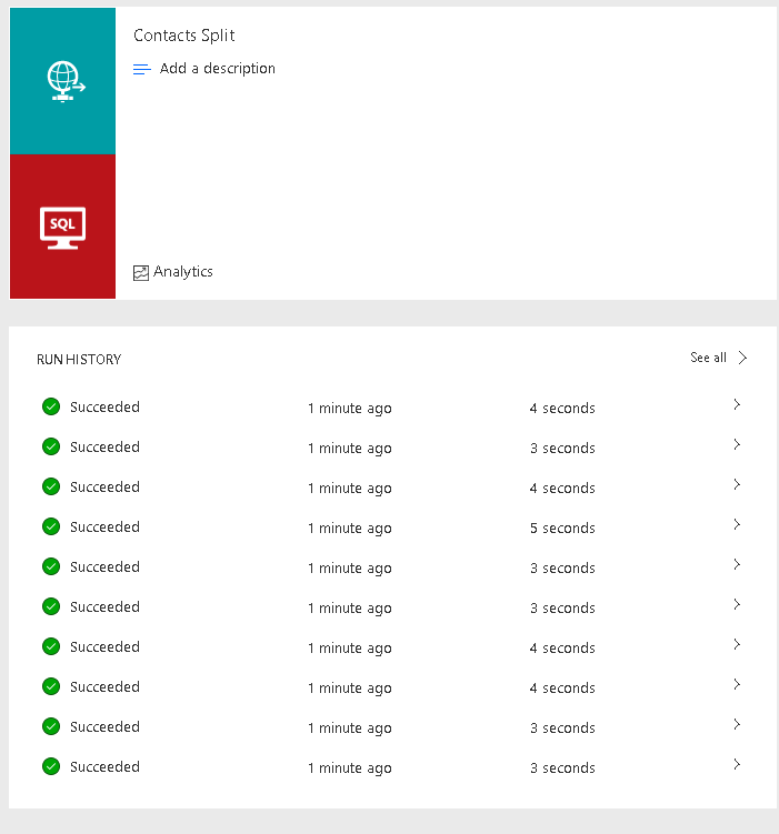 Flow - Http Request - Split On Collection Joe Gill Dynamics 365 Consultant