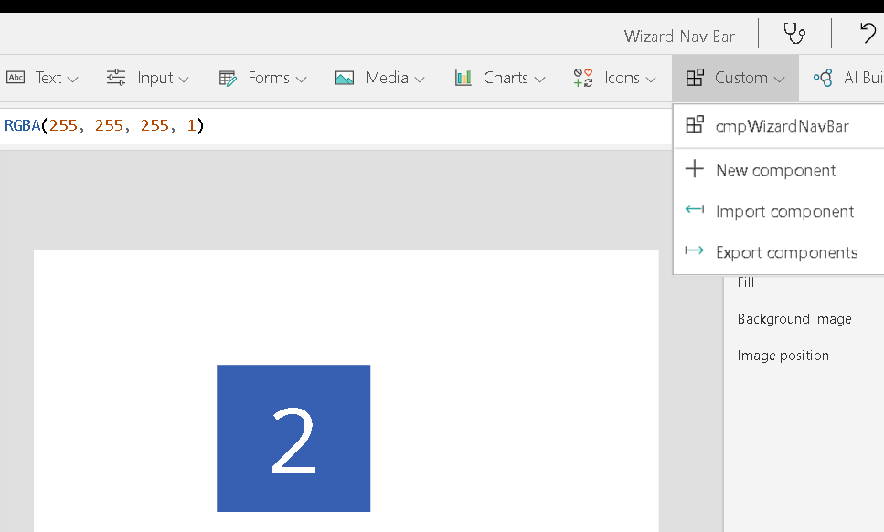 Create Powerapps Nav Bar Component for Canvas App Joe Gill Dynamics 365 Consultant