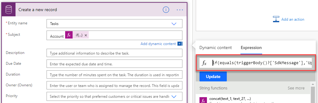 Determine which Dataverse event triggered a Flow in Power Automate Joe Gill Dynamics 365 Consultant