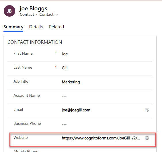 Power Automate & Cognito Forms Joe Gill Dynamics 365 Consultant