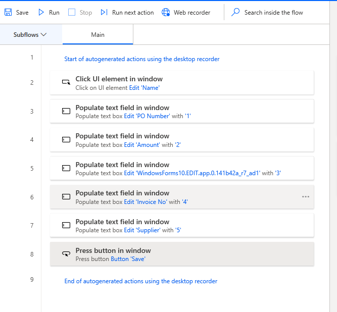 Power Automate Desktop - UI Flow Joe Gill Dynamics 365 Consultant